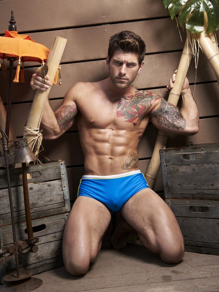 澳大利亚 肌肉超模